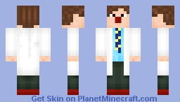 Patch Adams [In memory of Robin Williams RIP] Minecraft Skin