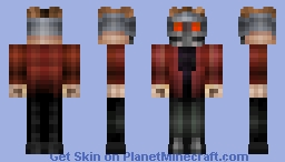 Peter Quill, Star Lord - Guardians of the Galaxy Minecraft Skin