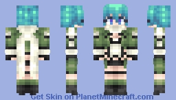 Sinon (sword art online and GGO) Minecraft Skin