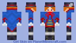 Black Butler Drocell Minecraft Skin