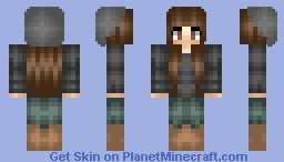 ☾ℛene - Request from Kat ☽ Minecraft Skin
