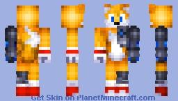 Tails Cyborg 1.8 Minecraft Skin