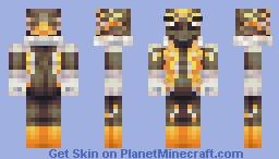 Kenji Takashi, Lord of Mwarks Minecraft Skin