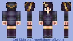 Umbreon- Eeveelutions Skin Series Minecraft Skin