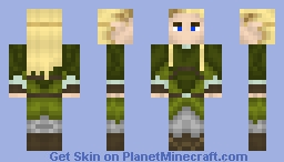 Legolas - The Hobbit: Desolation of Smaug Minecraft Skin
