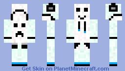 Hoodie template Minecraft Skin
