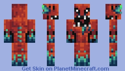 Grotto Creature (TheJustCookie's Palette Challenge) Minecraft Skin