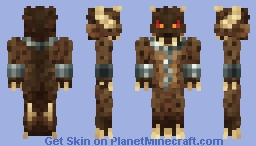 Angfur - inner demon of anger, rage, fury and wrath [Emotions Skin Contest] Minecraft Skin