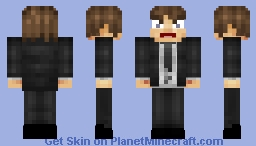Angry office worker (emotion contest) Minecraft Skin