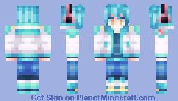 ✰ᑭIKᗩ✰~  Aoba! (DRAMAtical Murder) *400 subs Minecraft Skin