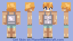 average female Minecraft Skin