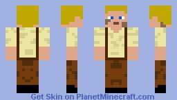 Frederic barett Minecraft Skin