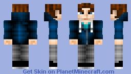 BlueGraphix's personal skin (Parkour, Freerunner) Minecraft Skin
