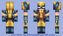 Andrea / Female Wolverine Minecraft Skin
