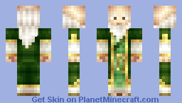 Iroh Minecraft Skin
