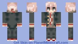 Makoto Naegi - Danganronpa Minecraft Skin