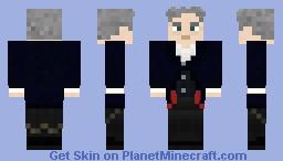 12th doctor (Peter Capaldi) 1.8 edition Minecraft Skin