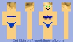 Man with bikini Minecraft Skin