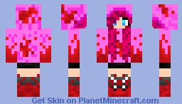 Pinkiamena Minecraft Skin