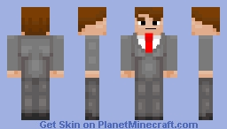 Serious is my Favorite Color - Emotions Skin Contest - 95th Place! Woohoo... Minecraft Skin