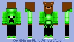 Green bear Minecraft Skin