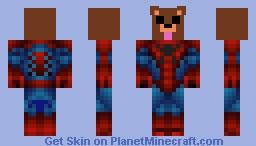 spider bear Minecraft Skin