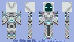 Spectre Armor from terraria Minecraft Skin