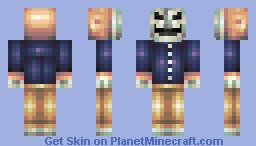 The Mask of Hate [Contest] [6th Place!] Minecraft Skin