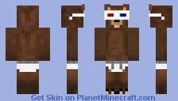 dERpy bear 2 Minecraft Skin