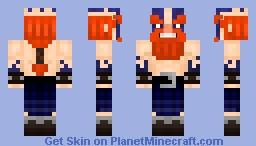 Woad Berserker Minecraft Skin