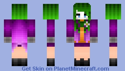 -nirvana the joker gender bend -read des- Minecraft Skin