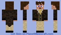 8th Doctor Paul McGann Minecraft Skin