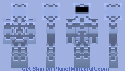 AquaCyberKnight Minecraft Skin