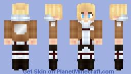 Annie Leonhardt - Attack Of Titans [ Request ] Minecraft Skin