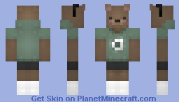Artie A Cute Toy Bear. Minecraft Skin