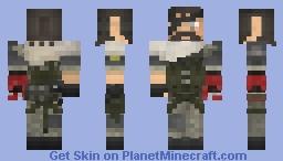 Big Boss TPP MGSV 1.8 Latest Update Minecraft Skin