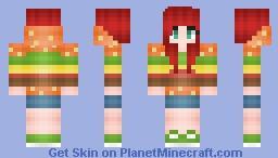 ƒℓσωєяƒℓσ | Burger Girl :3 Minecraft