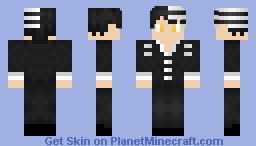 Death the Kid Minecraft Skin