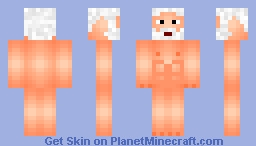 Naked Zues Minecraft Skin