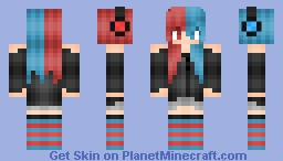 -=Diana=- Personal Skin (A New Mascot??) Minecraft Skin