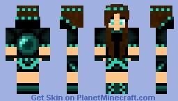 Ender Girl Minecraft
