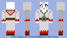 Ivalice White Mage Moogle Minecraft Skin