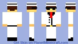 Mafia-Boss - ву C๏DץX! Minecraft Skin
