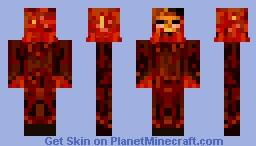 Hell's Hellfire - Emotion of Rage Minecraft Skin