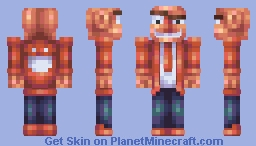 Psycho-logist Minecraft Skin