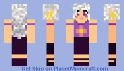 Yugioh GX OC Skin Minecraft Skin