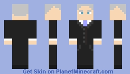 The Twelfth Doctor - Peter Capaldi Minecraft Skin