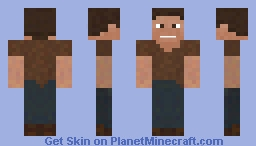 Rustic Modern Hero Minecraft Skin