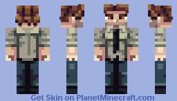 Bigby Wolf Minecraft Skin