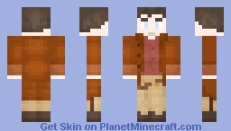 Captain Mal Reynolds - Firefly / Serenity Minecraft Skin